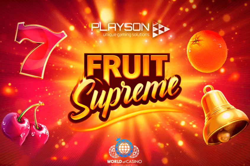 Playson Introduces the New Slot – Fruit Supreme : 25 lines